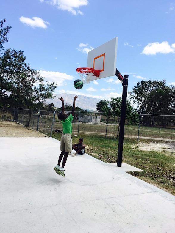 Wiltchina playing basketball.