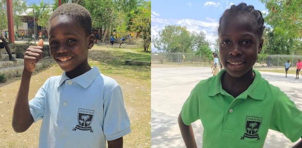 Meet Pierrison, a future professor, and Wiltchina, an aspiring nurse.  They are two of our Choix 3rd grade students available for sponsorship